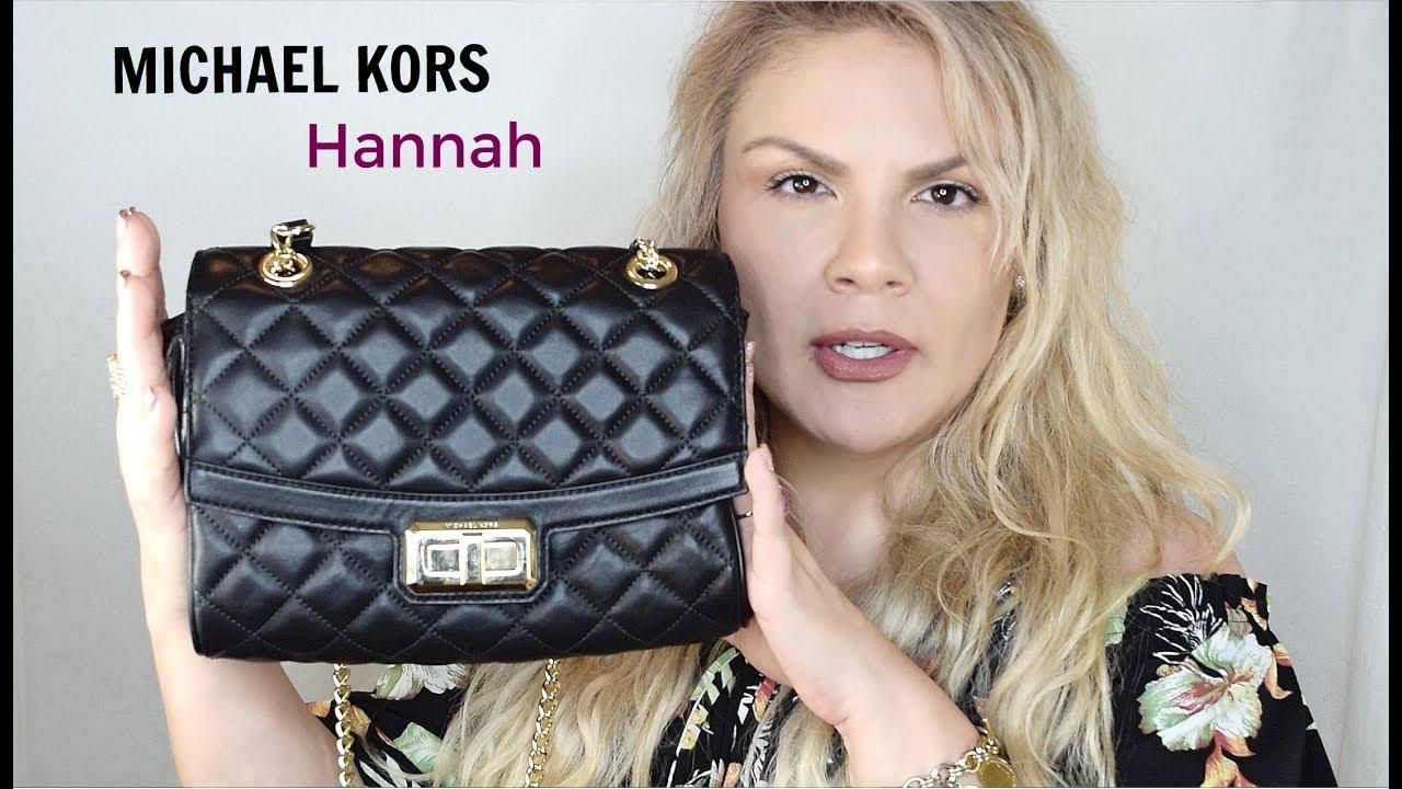 My Chanel Inspired Bag Michael Kors Hannah Shoulder Flap Crossbody