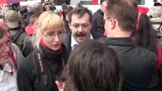 1. Mai der SPÖ: Tumult um Physiker Werner Gruber