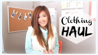 CLOTHING HAUL | Urban Outfitters, H&M, Threadsence) | ilikeweylie