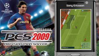 [HD] KONAMI Pro Evolution Soccer (PES 2009) Java Mobile Game