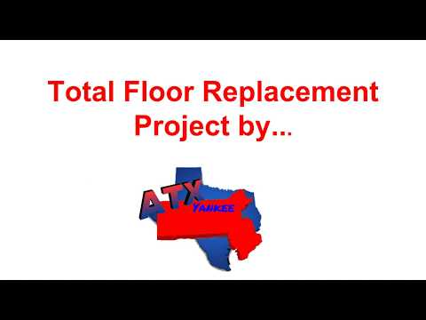ATX YANKEE Handyman- mold floor replacement