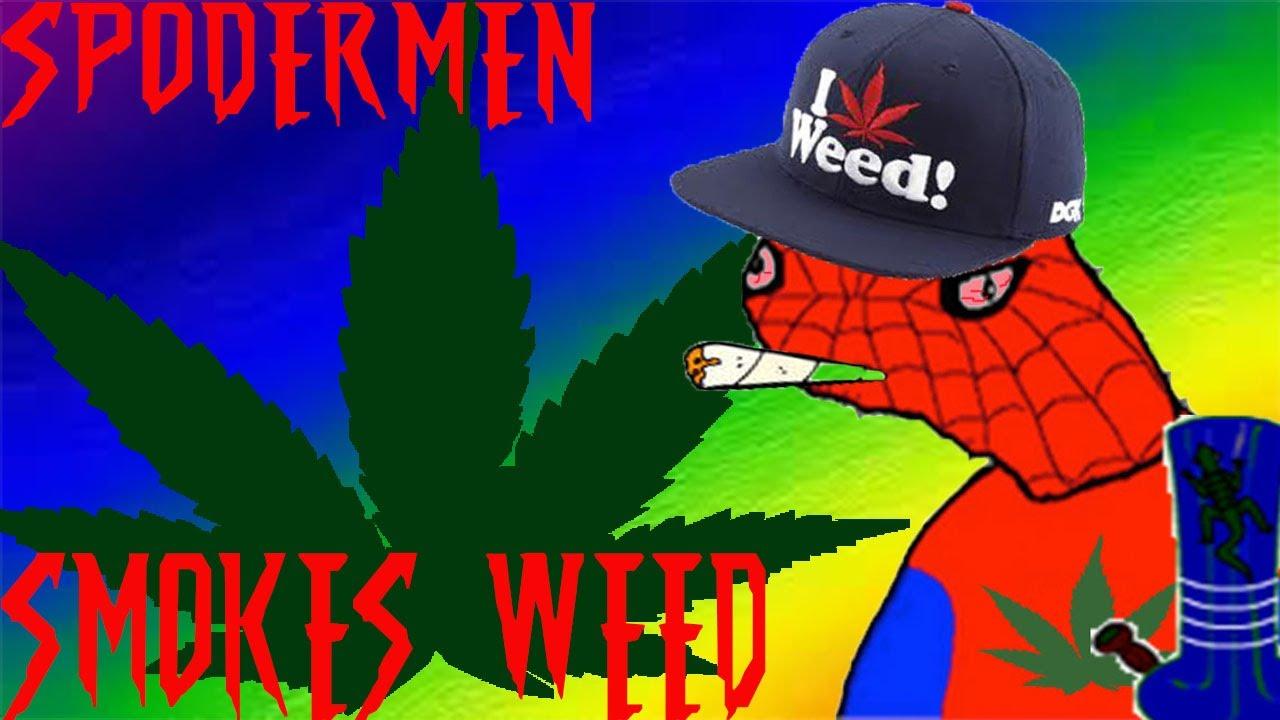 Spodermen SMOKES WEED! - YouTube
