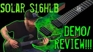 The Green Machine!!! Solar S1.6HLB Demo/Review!!!