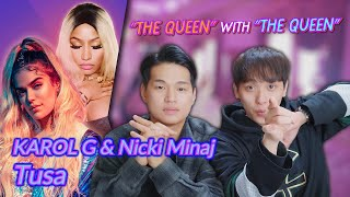 Download Lagu K-pop Artist Reaction] KAROL G, Nicki Minaj - Tusa Terbaru