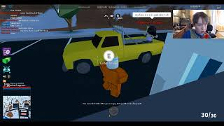 Roblox Jailbreak robbing the train to max money!