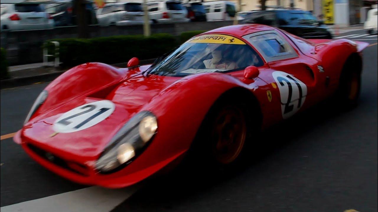 Ferrari P4 5 >> Noble P4 - Ferrari 330 P4 Replica Exhaust Note - YouTube
