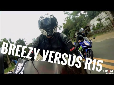 Breezy vs R15 / uphill vlog / LETS RIDE!