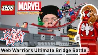 Людина-Павук Лего: web воїни остаточний міст битви (76057) - Brickworm