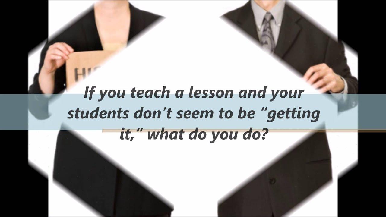 teacher interview questions teacher interview questions