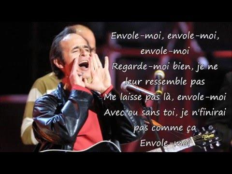 Jean Jacques Goldman - Envole Moi Paroles