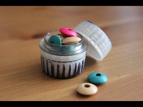 C mo hacer una caja con un tap n de botella facilisimo - Como forrar una caja con tela ...