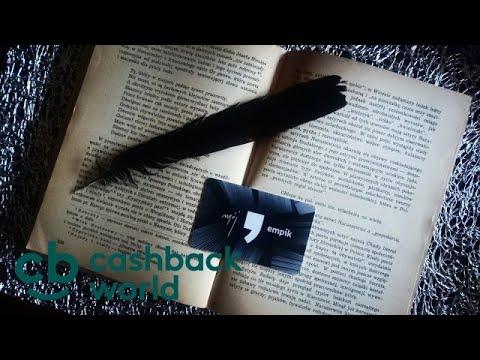 CASHBACK WORLD Zamów Kartę prezentową i otrzymaj dodatkowe 1 PLN na zakupy w Empik!