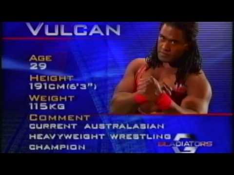 Australian Gladiators - Vulcan Bio.