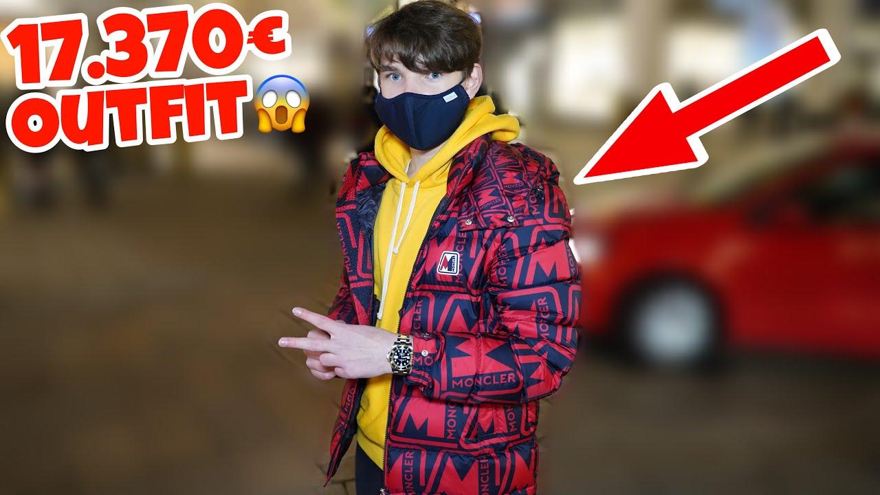 17.370€ Outfit vom Bonzen Kid 💰🔥| Wie viel ist dein Outfit wert ? | Lion