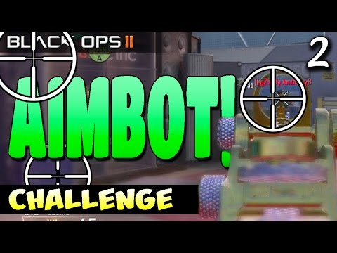 Ep 2. I've Never Seen this Before!   The Aimbot Challenge! (BO2 Live)