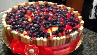 Wafer Sticks Cake