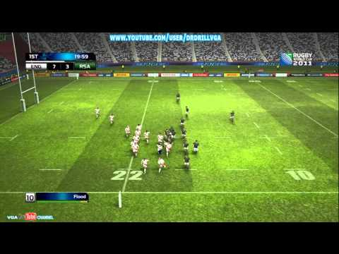 Rugby World Cup 2011 Xbox 360 Demo Gameplay With Commentary  HD