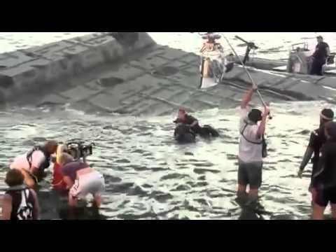 Сьёмки фильма Морской бой