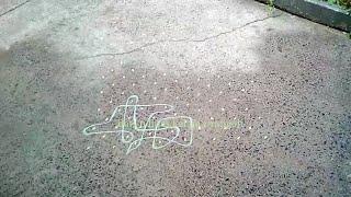 sikku kolam / tippudu muggulu | 15 pulli kolam | simple dot rangoli designs