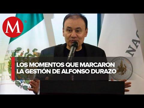Renuncia de Alfonoso Durazo  a Seguridad es para buscar la gubernatura de Sonora