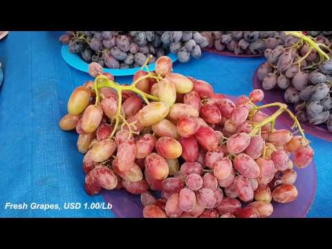 America Street Foods and Fruits | USA Travel | Trip To Flea Market In The Rainy Day