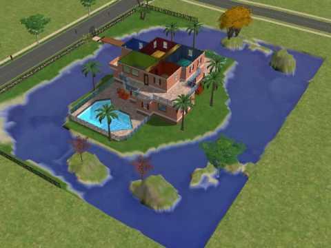 Ma maison de r ve sims 2 youtube for Maison prefabriquee sims 4