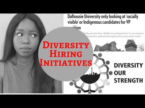 Diversity Hiring Initiatives - Discriminatory?