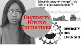 (Bed Wench Alert!/I Am Josephine)Diversity Hiring Initiatives - Discriminatory?