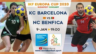 IKF ECup 2020 Barcelona KC - NC Benfica