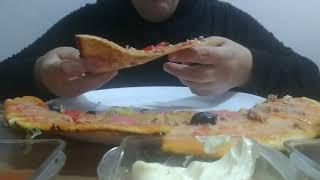 따끈따끈하고 맛있는 피자 드세요❤
