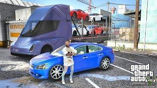 GTA 5 REAL LIFE MOD #440 CARS DELIVERY!!! (GTA 5 REAL LIFE MODS)