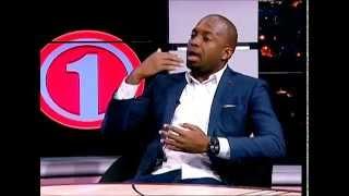 Thomas Mlambo  interviews footballers Itumeleng and Thabo September