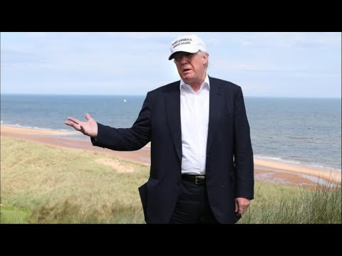 Donald Trump's golf resort 'could face severe flooding'