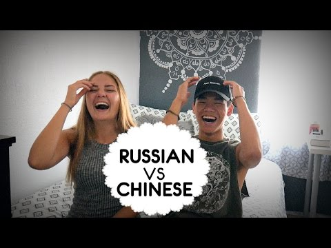 Chinese speaking russian