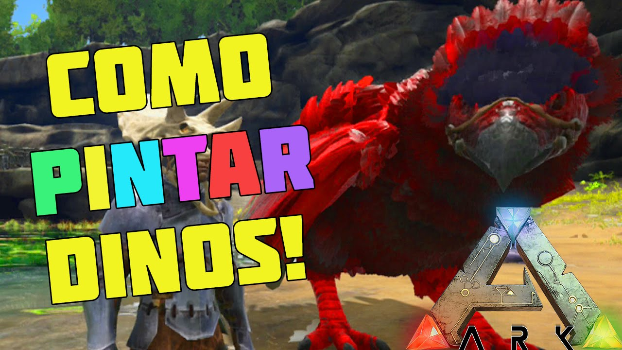 Como Pintar Dinosaurios Ark Survival Evolved Xbox One Ps4 Espanol Survivalvideos Survival evolved, the pachyrhinosaurus eats bug repellant, crops, mejoberry, berries dododex is an ark taming calculator app for ark: survivalvideos