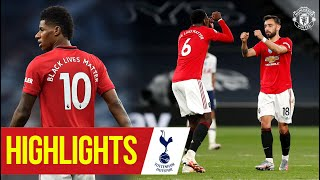 Highlights | Manchester United 1 1 Tottenham Hotspur | Fernandes Strikes | Premier League 19/20