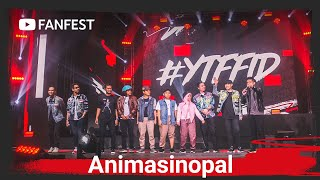 Animasinopal feat. Jovial da Lopez and Maell Lee at YouTube FanFest Jakarta 2019