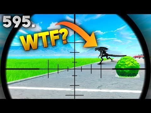 NEVER SEEN *CREATURE* FOUND IN FORTNITE! Fortnite Funny WTF Fails and Daily Best Moments Ep.595 thumbnail