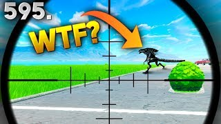 NEVER SEEN *CREATURE* FOUND IN FORTNITE! Fortnite Funny WTF Fails and Daily Best Moments Ep.595