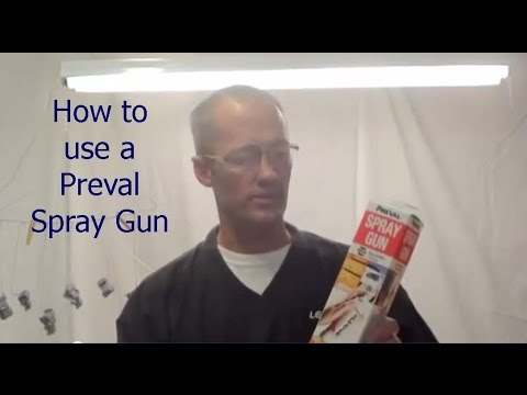 Preval Spray Gun Evaluation