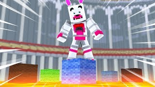 Funtime Foxy Plays Party Games (Minecraft Fnaf Roleplay Adventure)