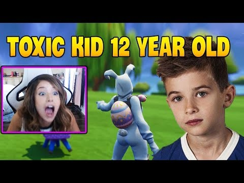 This Kid Says the Nastiest Things to Pokimane !   Fortnite Compilation