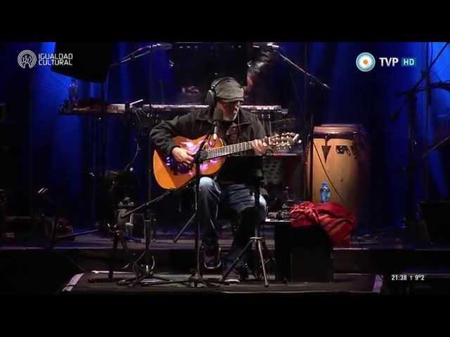 Silvio Rodríguez - Pequeña serenata diurna - Villa Lugano - 30-05-15