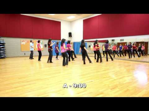 Dig Your Heels - Line Dance (Dance & Teach in English & 中文)