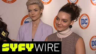 Women Of Gotham: On Frenemies And Bruce Getting His Sh*t Together | SYFY WIRE