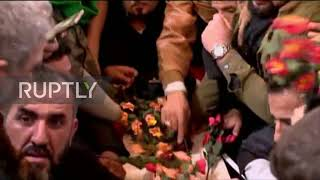 Iraq: Soleimani's coffin paraded in Karbala farewell procession