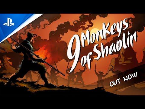9 Monkeys of Shaolin - Gameplay Trailer | PS4