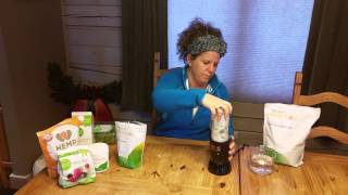 Making the Basic Arbonne Protein Shake as a Meal Replacement