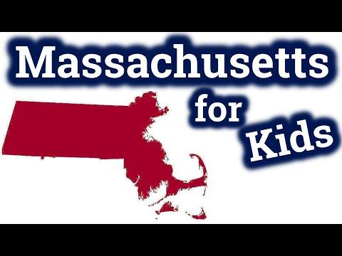 Massachusetts for Kids | US States Learning Video
