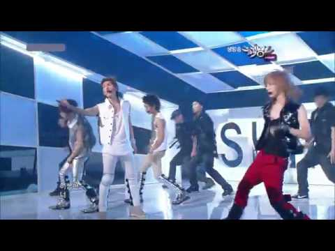 SHINee - UP & DOWN + LUCIFER - JULY 23 2010 [HQ]